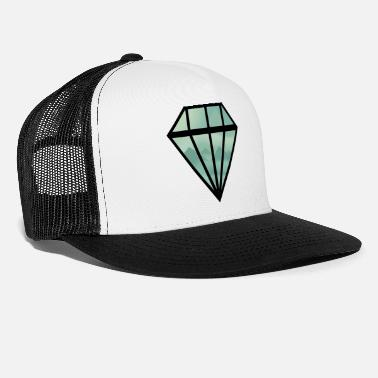 Indie Black Indie Diamond - Trucker Cap