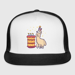 Birthday Llama By Themd