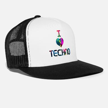 I Love Techno I Love Techno - Trucker Cap