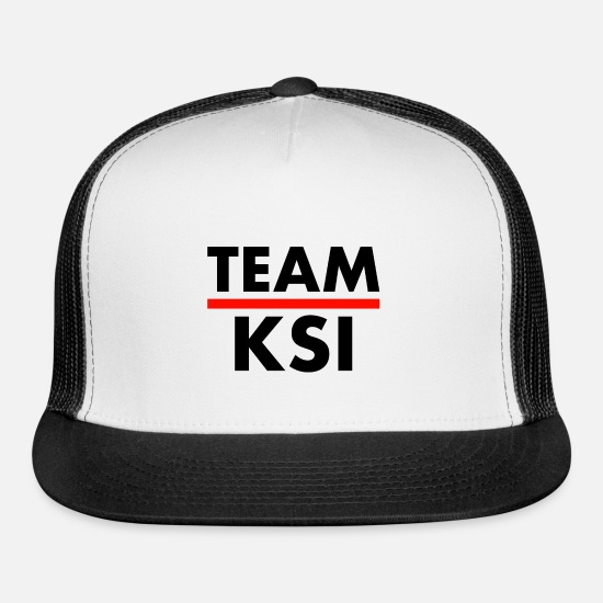 Mma Caps - TEAM KSI - Trucker Cap white/black