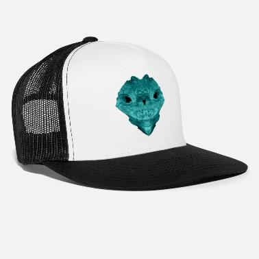 blue skull - Trucker Cap