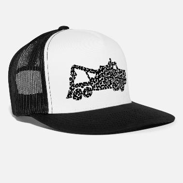 Tow Truck Towtruck_clipped_rev_4 - Trucker Cap