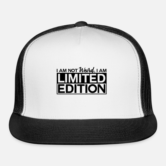 Limited Edition Caps - Limited Edition - Trucker Cap white/black