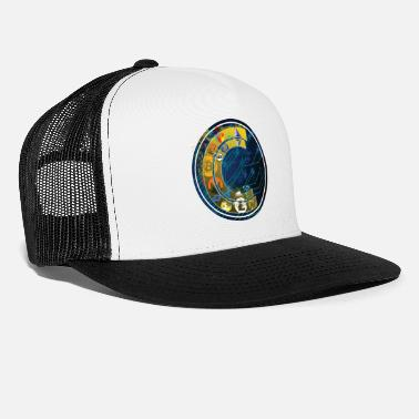 Crack Cracking Cryptocurrency Logo (10x) - Trucker Cap
