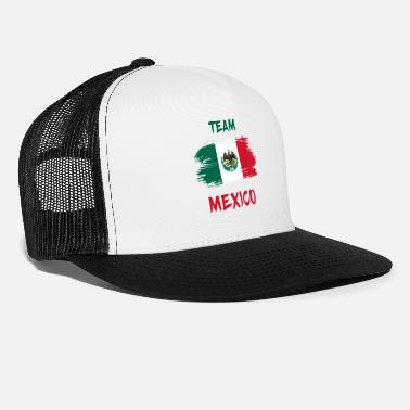 Color Team Mexico / Gift National Flag - Trucker Cap