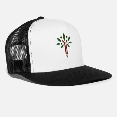 Nature Conservation Tree forest pen nature conservation nature gift - Trucker Cap