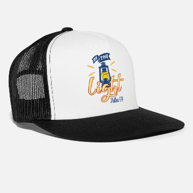Lighting Be The Light - Light - Trucker Cap