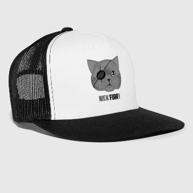 Nick Nick Furry Cat / Katze - Trucker Cap