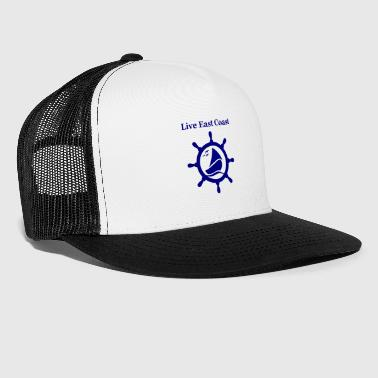 live east coast - Trucker Cap