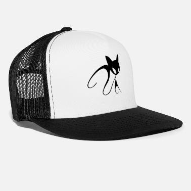 Stylish stylish Cat - Trucker Cap