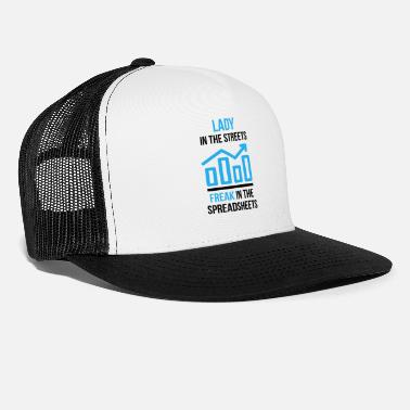 Paying Accountant father saying profession gift - Trucker Cap