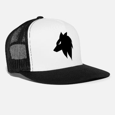 Dog Manga Anime Wolf Dog - Trucker Cap