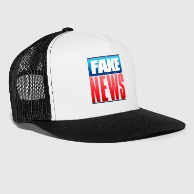 Fake News Network Logo - Trucker Cap