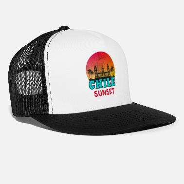 Andes Chile Sunset Vintage / Gift Sunset South America - Trucker Cap
