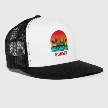 South America Ecuador Sunset Vintage / Gift South America - Trucker Cap