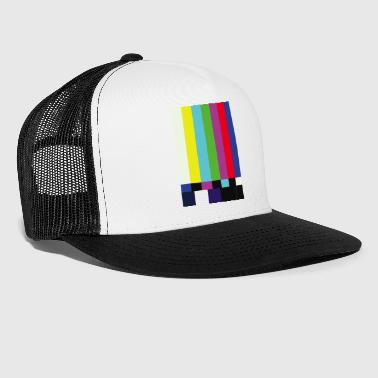 This is a TV Test | Retro Television Broadcast - Trucker Cap