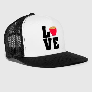 Funny Noodle - Love Pasta Bowl - Meal Snack Humor - Trucker Cap