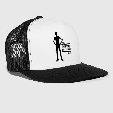 Everyday Off Day - Powerlifting Squat Bench Black - Trucker Cap