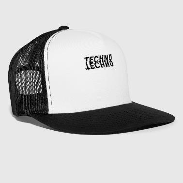 Techno Mirror Dance and Party T-Shirt - Trucker Cap