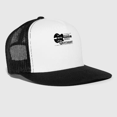 Guitarist - Worlds Best Guitarist - Trucker Cap