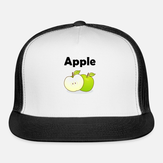 Apple Caps - Apple - Trucker Cap white/black