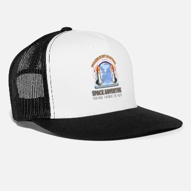 Astronaut Space - Failure Is Not An Option. Space Adventure - Trucker Cap
