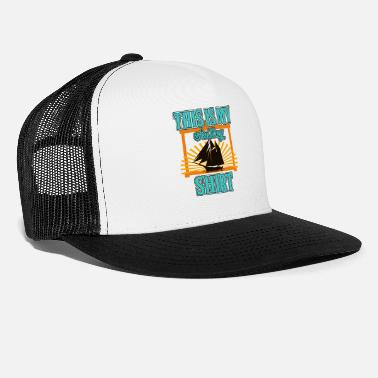 Boat Sailing - This Is My Sailing Shirt - Trucker Cap