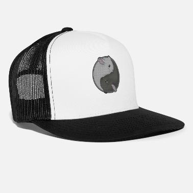 Taoism Cute Chinchilla Gift Yin Yang Rodent Pet Taoism - Trucker Cap