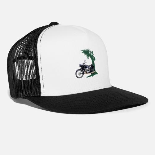 7e43571083e033 Vintage Motorcycle Retro Vintage Chopper Trucker Cap | Spreadshirt