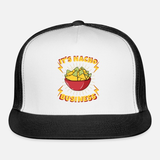 Italian Caps - it s nacho business - Trucker Cap white/black