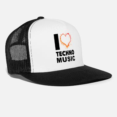 I Love Techno i love Techno 2 - Trucker Cap