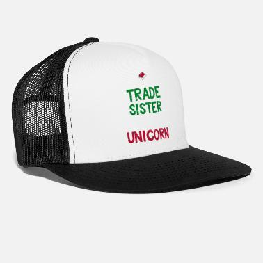 Kids Trade With Santa Funny Christmas Unicorn Gift - Trucker Cap