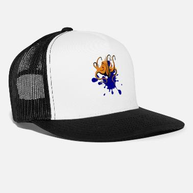 Ink Octopus Ink - Trucker Cap