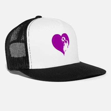 Gogo Gogo Dancer Heart Purple Gift - Trucker Cap