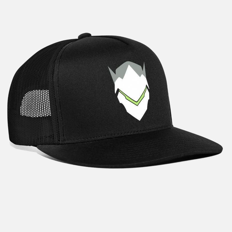 94637d4e Genji Overwatch Icon Trucker Cap | Spreadshirt