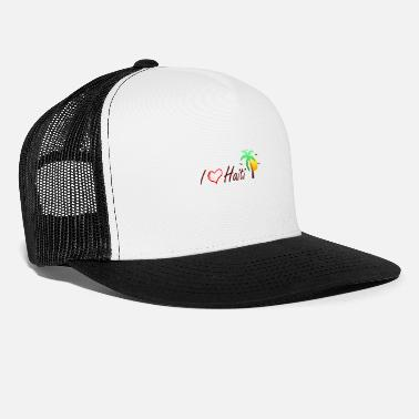 Made In Haiti I love Haiti - Trucker Cap