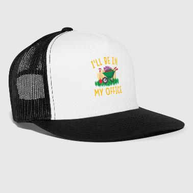 Flora Garden Gerdening Work Office Love Plants - Trucker Cap
