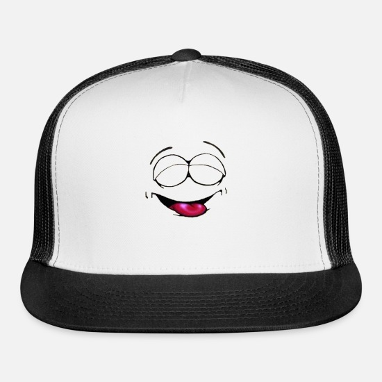 Love Caps - SONRISA1 - Trucker Cap white/black