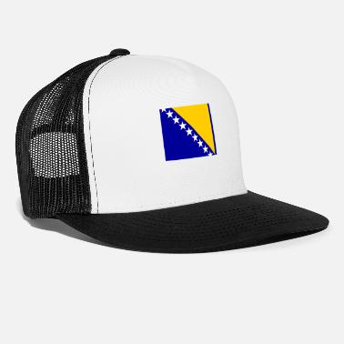 Bosnia Flag of Bosnia and Herzegovina (ba) - Trucker Cap