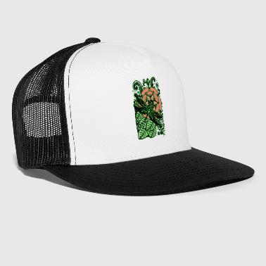 Dragonfly in Nature 2 Poster - Trucker Cap