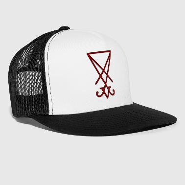Seal of Lucifer - Red - Trucker Cap