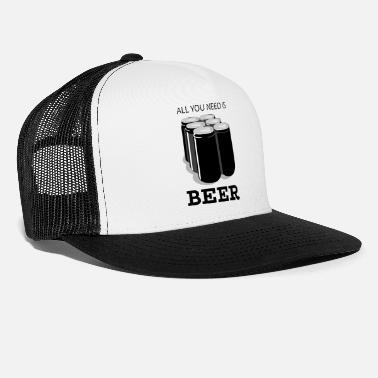 Beer Keg Beer - Trucker Cap
