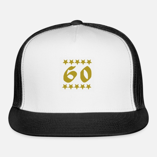 60th Birthday Cap Gift for Men Women Make Sixty Great Again Trucker Hat 60 Bday