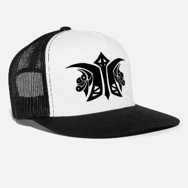 Logo Tribal Logo - Trucker Cap