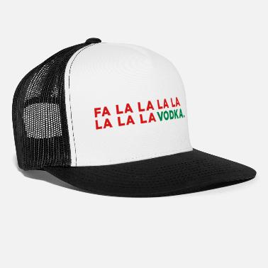 Christmas Vodka Funny Christmas - Trucker Cap