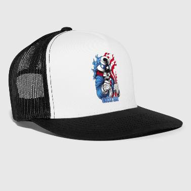 Uncle Sam (united state) - Trucker Cap