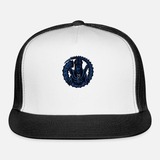 Movie Caps - INTO DARKNESS ALIEN TRIBUTE - Trucker Cap white/black