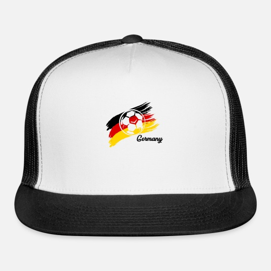 Birthday Caps - Germany Rules - Trucker Cap white/black
