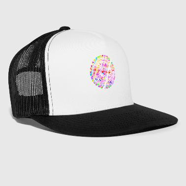 Apache Tribal Decorative Art - Trucker Cap