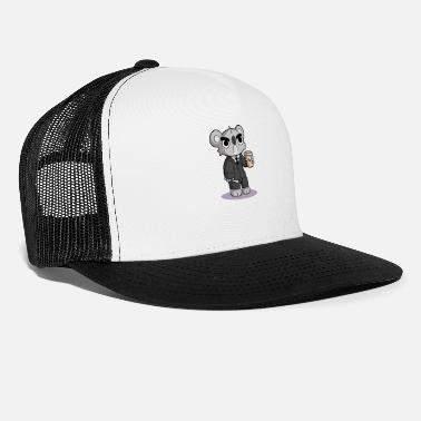 Grumpy In The Morning Grumpy Koala - Trucker Cap